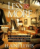 Less Is More, Elaine Lewis, 0670842397