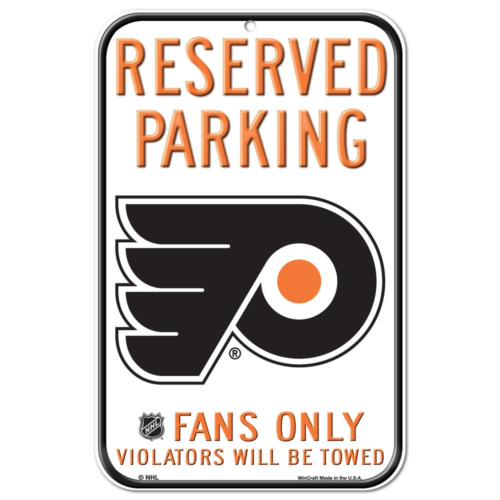 WinCraft NHL Philadelphia Flyers 29535011 Plastic Sign 11 x 17