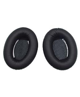 Yizhet Une Paire De Remplacement PU Doux Mousse Casque Oreillettes Ear Pads Oreillettes pour Bose QC2 QC15 AE2 AE2i AE2w (Bose QC2)