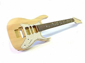 7 de cuerdas de guitarra eléctrica de montar/Guitar DIY Kit Tree of Life