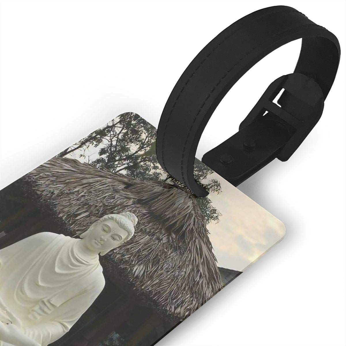 Buddhism Cruise Luggage Tag For Travel Bag Suitcase Accessories 2 Pack Luggage Tags