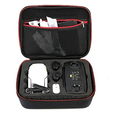 Anbee Portable Carrying Case EVA Hard Shell Travel Storage Bag Compatible with DJI Mavic Mini RC Drone: Electronics