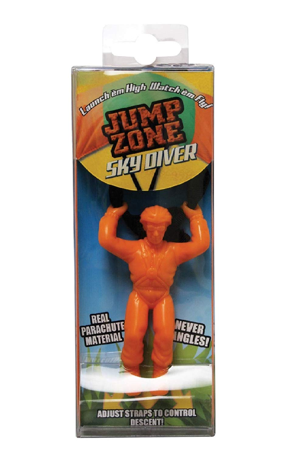 Prime Time Toys Jump Zone The Original Sky Diver 15 Pack Individually Package(Colors Vary) by Prime Time Toys