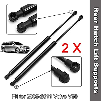 2 BOXI Gas Springs Boot Supports Struts 9485706 Qty
