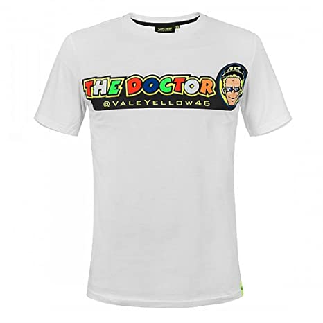 Valentino Rossi Vr46 Moto Gp The Doctor Weiss T Shirt Offiziell 2018 Weiss Gr L