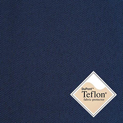 aktivstoffe Breaker Teflon® - Tela Repelente al Agua - A Prueba de Viento - Muy Robusta (Color Azul Oscuro) (por 0