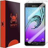 Skinomi TechSkin - Schutzfolie für Samsung Galaxy A3 (2016) (deckt den gesamten Bildschirm)