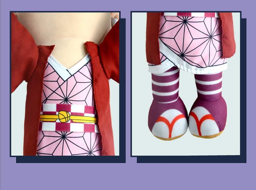 Futrecos Anime Plushies Cute Figure Throw Pillow Demon Slayer Kimetsu No Yaiba Peluche Personajes Mu/ñeca Juguetes Decoraciones para Ni/ñas Adultos Dormitorio Cumplea/ños Fiesta Habitaci/ón