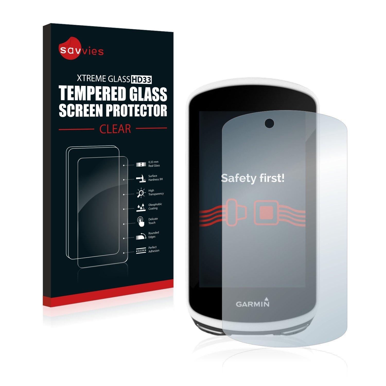 BROTECT Protector Pantalla Cristal para Garmin GPSMAP 64st Cristal Vidrio 9H AirGlass