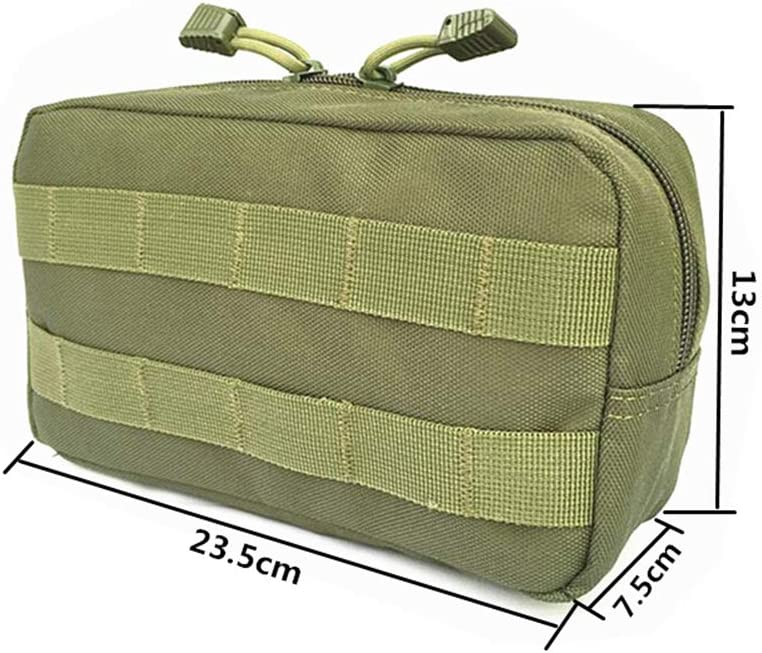 HWZ Roll Over Image to Zoom in 1000D Waterproof Molle Pouch Multi-Purpose Compact Tactical Waist Bags Utility Pouch