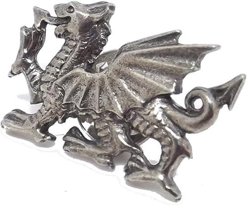 Pewter Dragon Pin Badge
