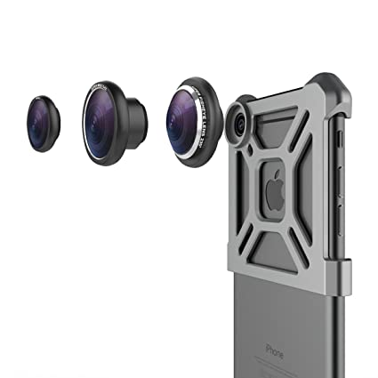 online store 1205a aed88 iPhone 6S Camera Lens Kit, Vinsic® 3 in1 HD iPhone 6 Fish Eye Lens ...