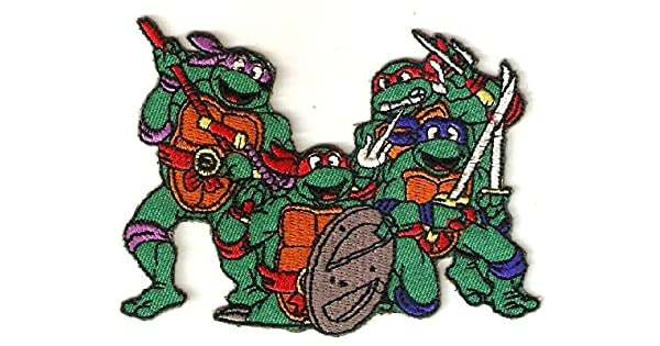 Amazon.com: Teenage Mutant Ninja Turtles Characters plantean ...