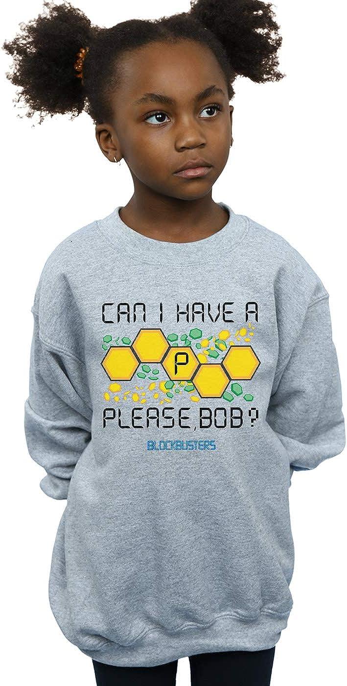 Sweatshirt Blockbusters Girls Can I Have A P Please Bob