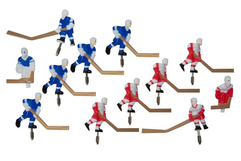 Carrom Stick Hockey Players Numbered Set (Renewed) by Carrom