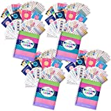Bundle of Four 12-Month 2018 Reminder Binder Planners, Four Busy Mom Sets (432 ct/set),Four Every Gal Sets (432 ct/set), Four Get it Done Sets (342 ct/set) and Four Dad Task Sets (644 ct/set)