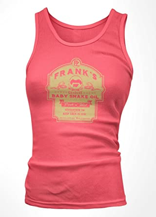 657ef8b98 FRANK ZAPPA inspired BABY SNAKES Baby Snake Oil Vest Top, Womens, Small,  Pink: Amazon.co.uk: Clothing