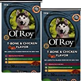 Cheap Ol' Roy T-Bone & Chicken Flavor Dog Food For All Breeds and Sizes – 50lbs (50 lbs. – Pack of 2)
