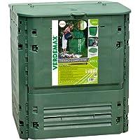 Verdemax 2894 Compostador Capacidad: 600 litros-tamaño: cm 80x80x104, Verde
