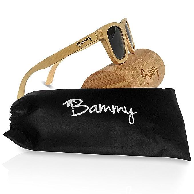 Bammy bambú gafas de sol