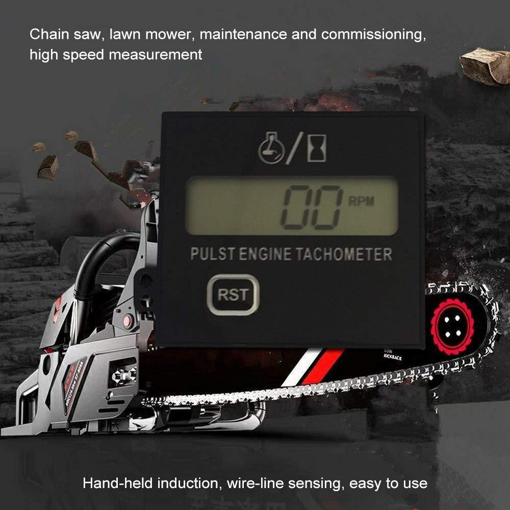Amazon.com: Ruichi7 - Tacómetro digital para motosierra ...