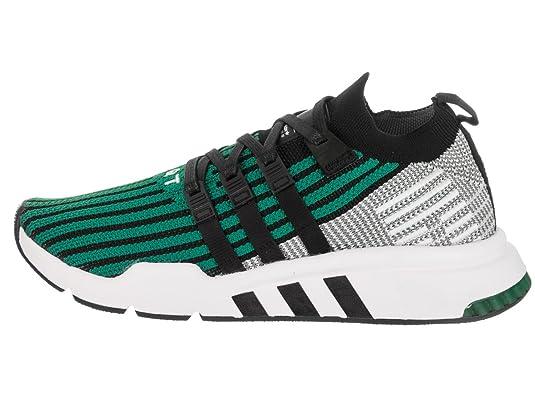53adc9068caec adidas Men s EQT Support Mid ADV PK Originals Core Black Core Black Green  Running Shoe 9 Men US  Amazon.co.uk  Shoes   Bags