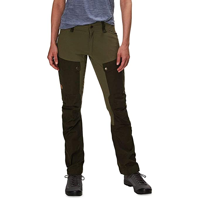 3f15ac94d Fjallraven - Women's Keb Trousers Curved, Deep Forest-Laurel Green ...