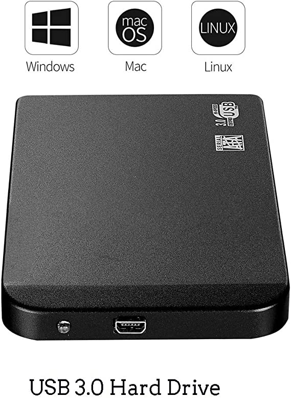 ウルトラスリム外付けハードドライブポータブルHDD、PCのラップトップのためのUSB 3.0ハードドライブとMacのXbox一つは、Xbox 360、PS4,1TB