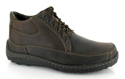 Hush Puppies, ALCATRAZ, Bota blucher marrón de Hombre, talla 45: Amazon.es: Zapatos y complementos