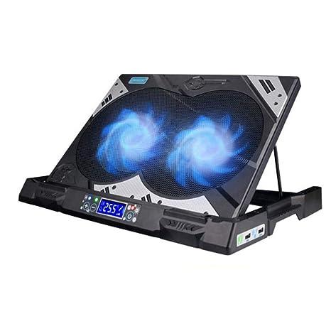 """XINWEI PAD Ventiladores Soporte Portátil, 14""""-19"""" Ultra Quiet Gaming Laptop Cooler"""