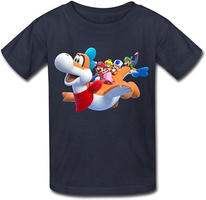 classic super Mario 3D print women/'s//men/'s Short Sleeve Casual Tops T-Shirt