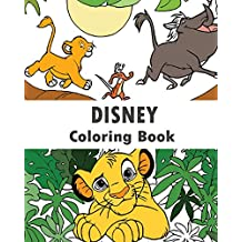 Disney : Coloring Book: Design Coloring Book