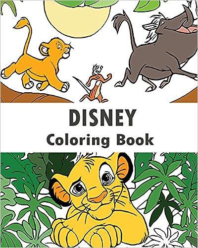Free PDF Disney Coloring Book Design