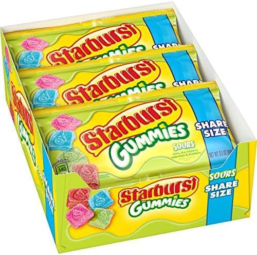 Gummy Candies: Starburst Gummies Sours