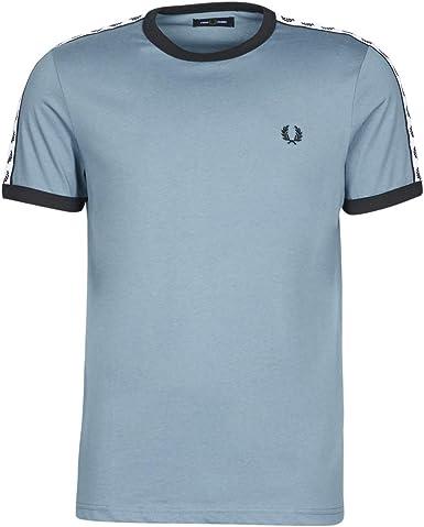 Fred Perry Camiseta T-Shirt Hombre: Amazon.es: Ropa y accesorios
