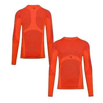 2690fef793 Diadora 102173393 Ls Techfit T- T-Shirt Homme: Amazon.fr: Sports et ...
