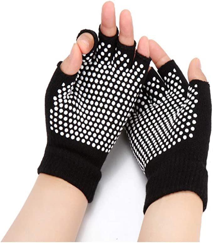 Amazon.com: HaveDream Guantes de yoga antideslizantes para ...