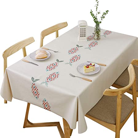 DreamyDesign - Mantel de PVC lavable y rectangular, lavable, lavable, lavable, lavable, mantel de hule para mesa de jardín, Fish, 70 x 120 cm: Amazon.es: Hogar