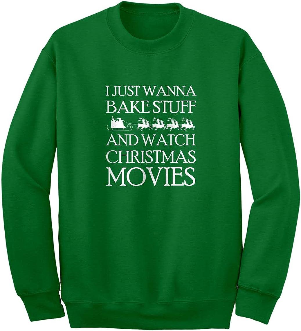 Christmas Movies Unisex Adult Sweatshirt Indica Plateau Bake Stuff
