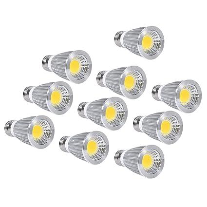 LED COB de Luz, Foco Bombilla, Bombilla de Inundación de 7W LED COB,