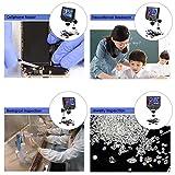 "600X Microscope, KKmoon 600X 4.3"" LCD Display 3.6MP"