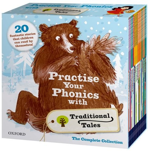 Practise Your Phonics with Traditional Tales Set Collection (21 Books) RRP:£125.79 (Oxford Reading Tree)