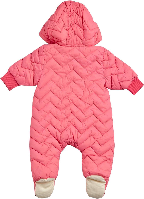 Newborn Urban Republic Baby Girls Pram Snowsuit with Full Sherpa Lining