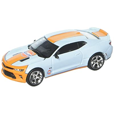 Greenlight 1/64 Gulf Oil 2020 Chevrolet Camaro SS: Toys & Games