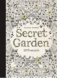Card Book 799 Prime Secret Garden 20 Postcards