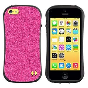 Paccase / Suave TPU GEL Caso Carcasa de Protección Funda para - Glitter Fashion Wallpaper Pattern - Apple Iphone 5C
