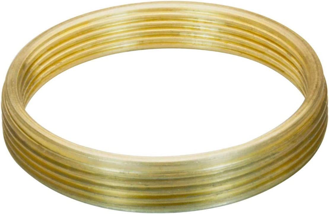 M27x0.75 Male to M24x0.75 Female Thread Adapter Bronze flangeless