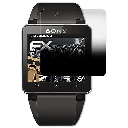 atFoliX Filtro de Privacidad para Sony SmartWatch 2 Película ...