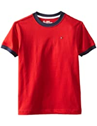 Tommy Hilfiger Boys' Core Crew-Neck Ken T-Shirt