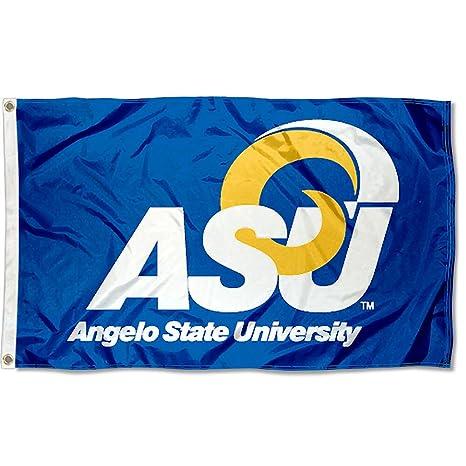 amazon com angelo state rams asu university large college flag
